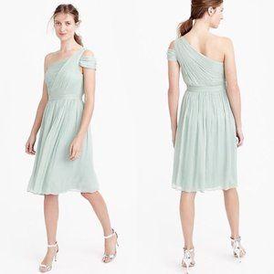 J Crew Silk Chiffon Cara Dress